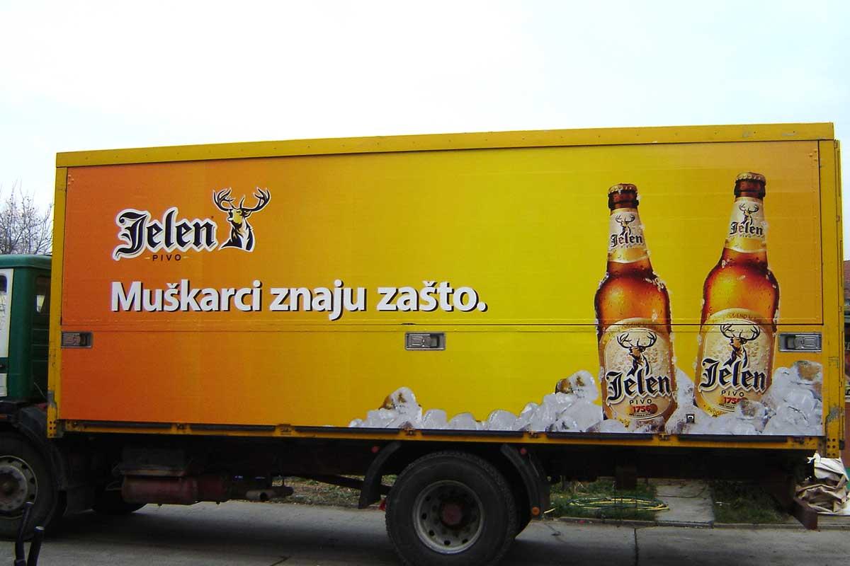 Jelovac cerade - Auto grafika - Kamioni i furgoni 02