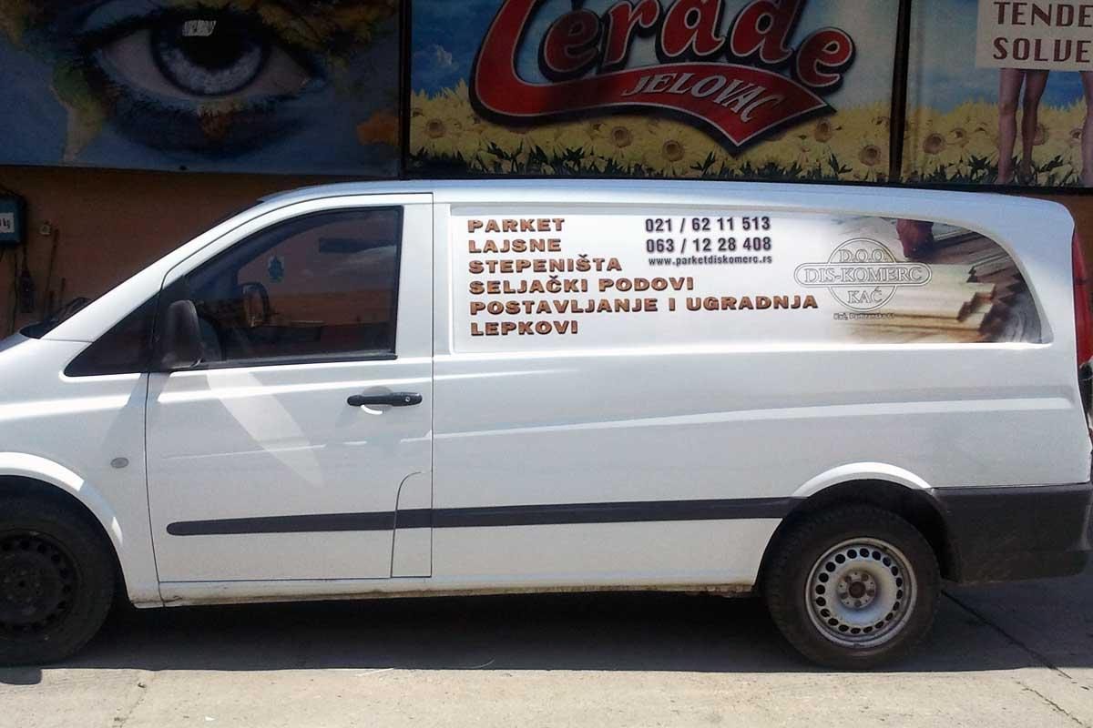 Jelovac cerade - Auto grafika - Kombi vozila 03