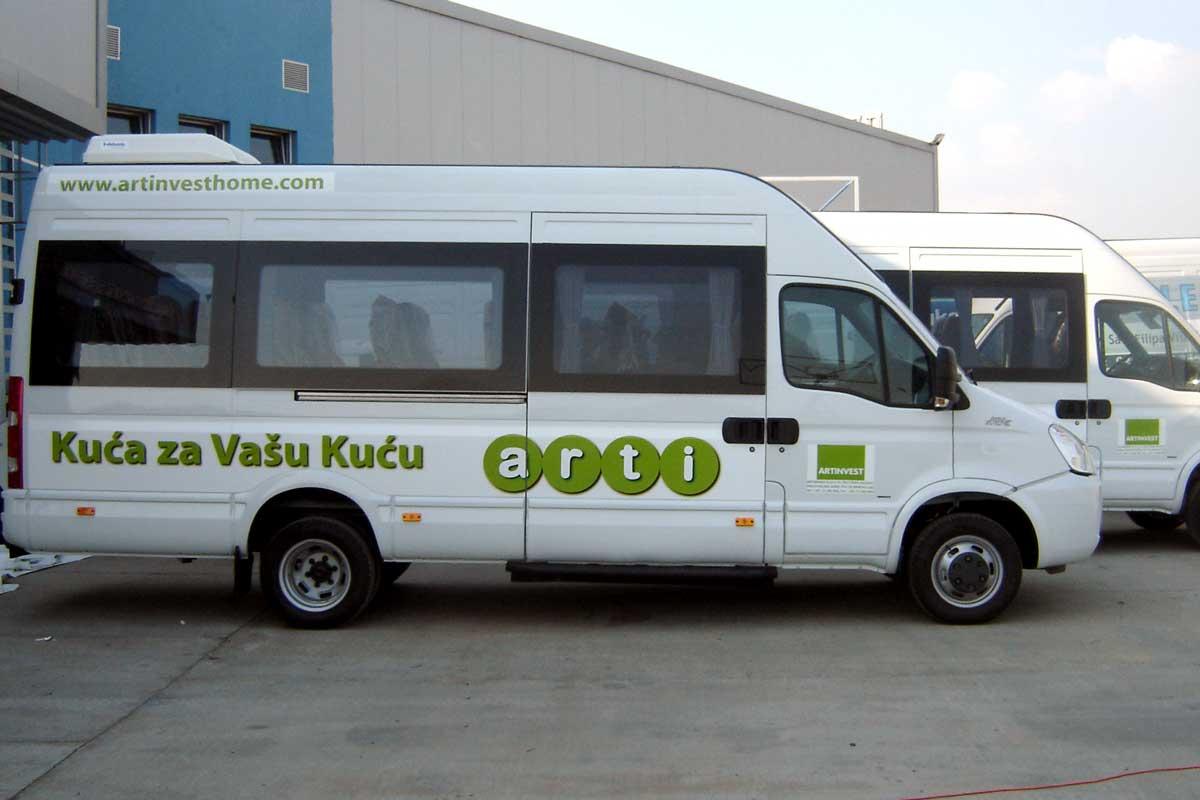 Jelovac cerade - Auto grafika - Mini busevi 02