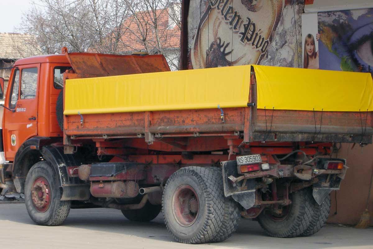 Jelovac cerade - Kamioni - Cerade za prekrivanje rasutog tereta 01