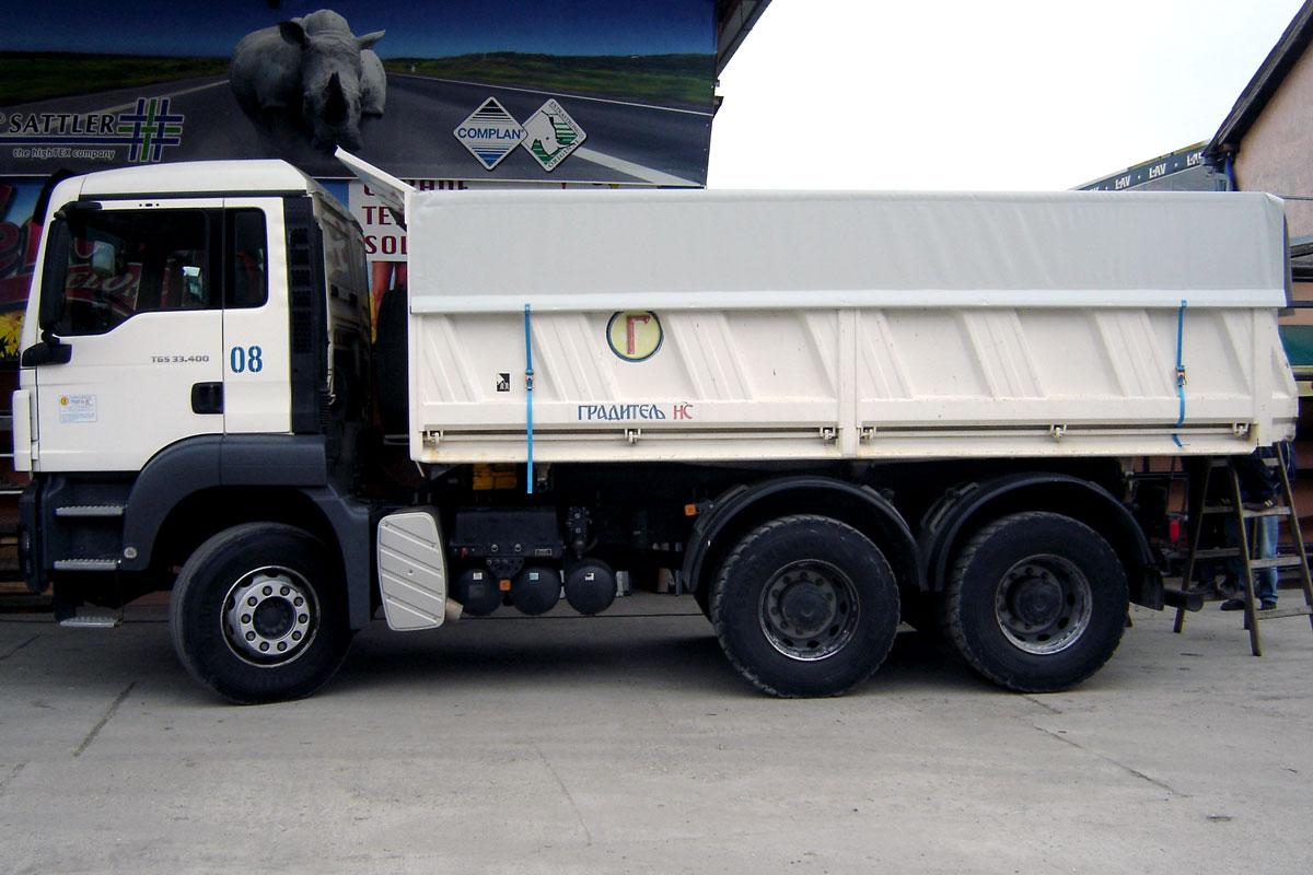 Jelovac cerade - Kamioni - Cerade za prekrivanje rasutog tereta 02