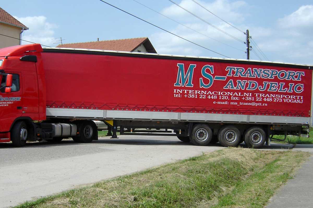Jelovac cerade - Kamioni - Cerade za vozila sa stranicama 17